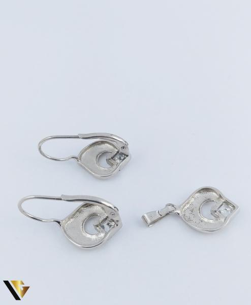 Set Argint Cercei si Pandantiv, 4.99 grame (R) 1