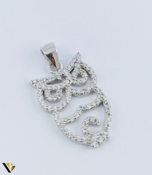Pandantiv Argint 925, Bufnita, 2.11 grame (R) 0