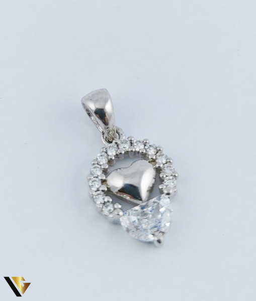 Pandantiv Argint 925, Inima, 1.54 grame (R) 0