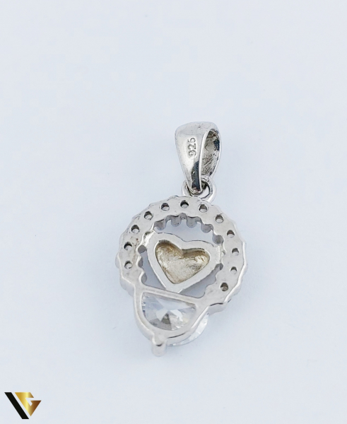 Pandantiv Argint 925, Inima, 1.54 grame (R) 1