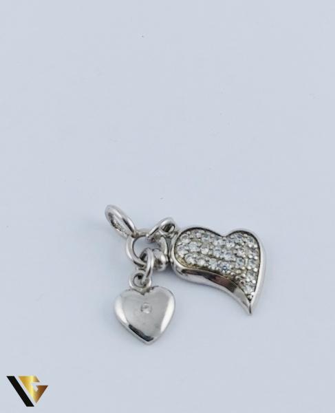 Pandantiv Argint 925, Inimi, 1.68 grame 0