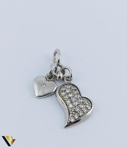 Pandantiv Argint 925, Inimi, 1.68 grame 1