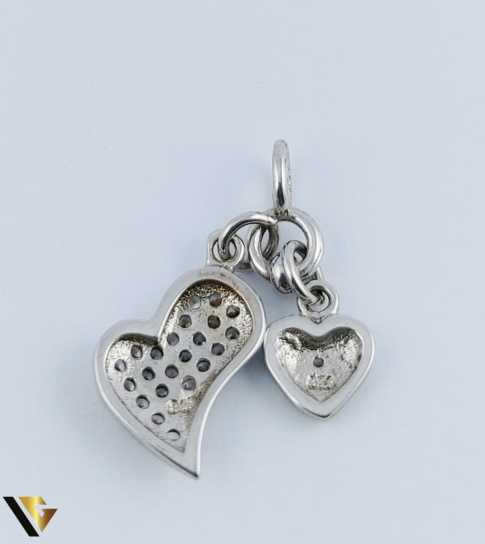 Pandantiv Argint 925, Inimi, 1.68 grame 2