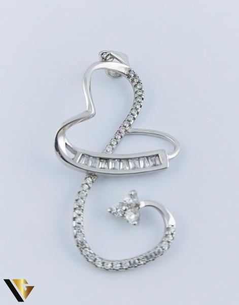 Pandantiv Argint 925, Inima, 2.17 grame (R) 0