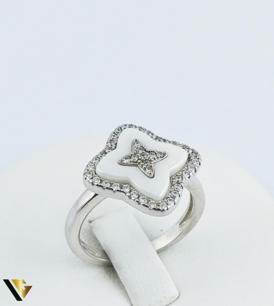 Inel Argint 925, Agata Alba, 4.18 grame (R) 0