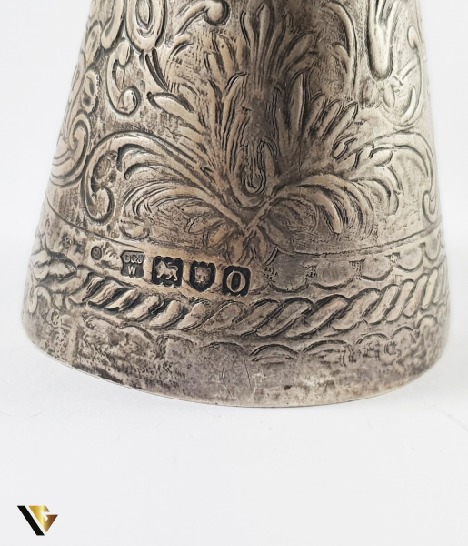 """Southern Lady Bell"" din Argint 800, 82.42 grame 2"