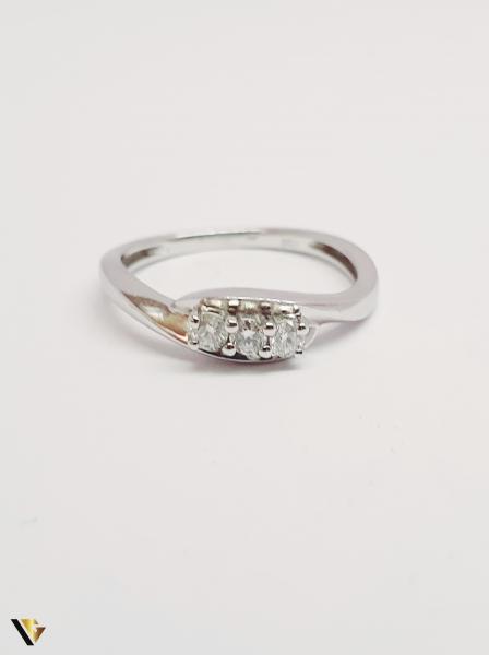 Inel din aur 18k , Diamante , 2.08 grame (BC M) [1]