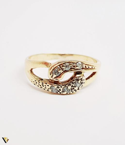 Inel din aur 14k, 2.02 grame (BC M) 1