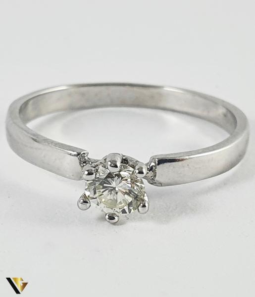 Inel Aur 14k, Diamant de cca. 0.30 ct, 1.78 grame (P) [1]