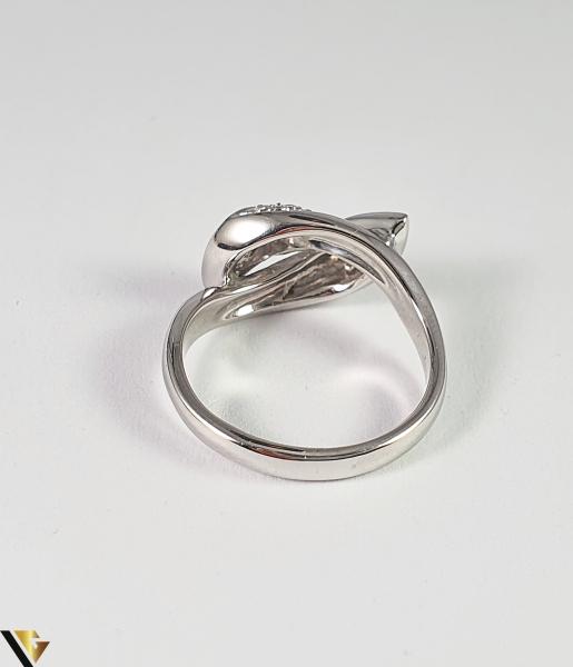 Inel Aur Alb 18k, Diamante cca 1.12ct, 5.45 grame (R) 3
