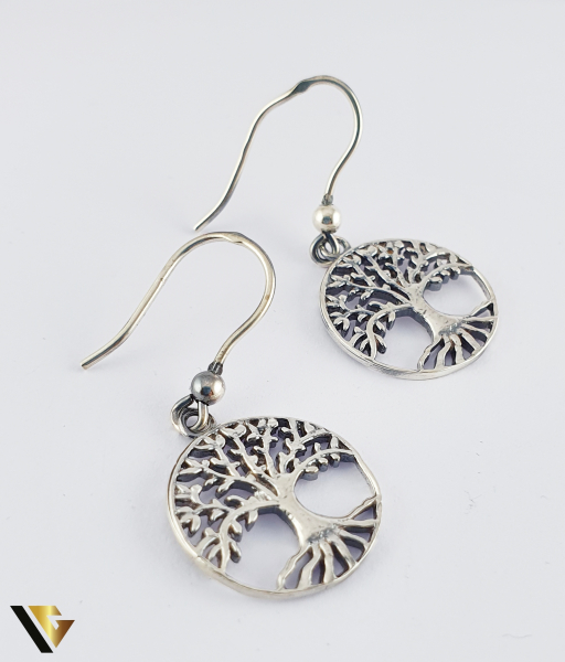 Cercei argint 925, Copacul vietii, 4.12 grame (R) 0