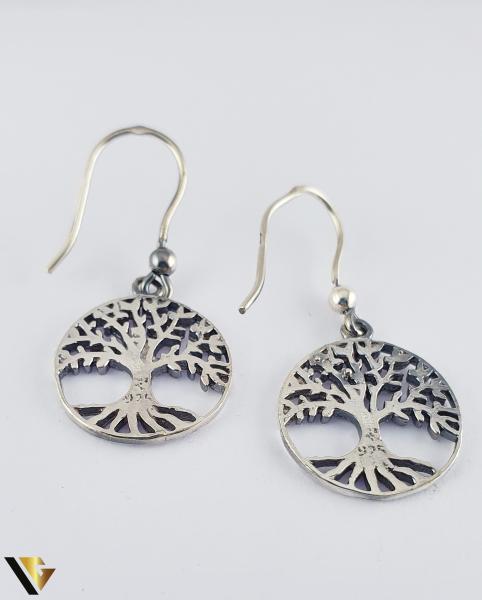 Cercei argint 925, Copacul vietii, 4.12 grame (R) 1