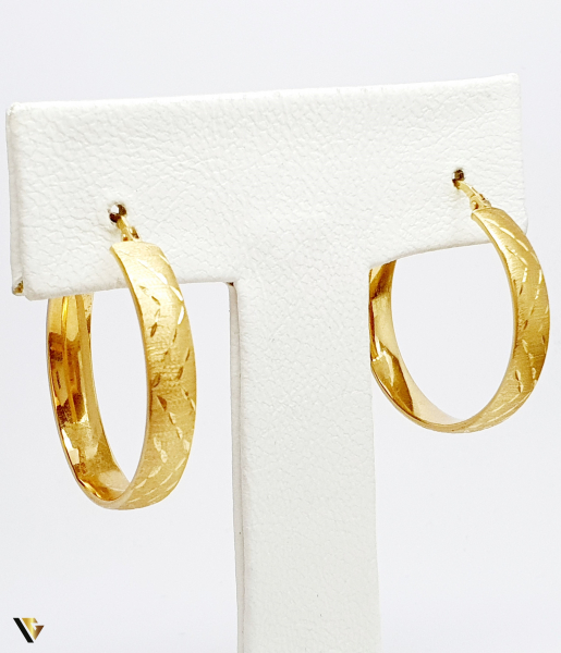 Cercei aur 18K , 3.89 grame (BC M) 1