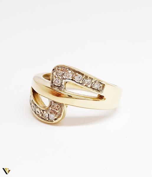 Inel din aur 14k, 5.17 grame (BC M) 1