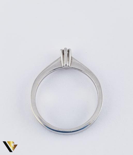 """Inel din aur 18k, 750 de logodna 2.75 grame Diamant """"Brilliant Cut"""" de cca. 0.07 ct [2]"""
