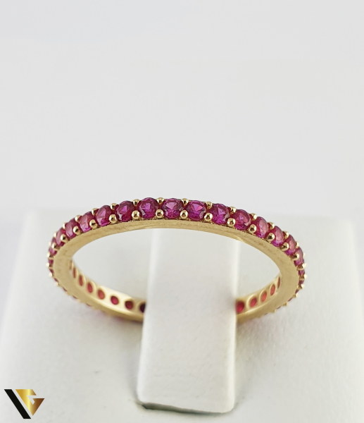 "Inel din aur 14k, 585 1.43 grame ""Eternity ring"" 1"