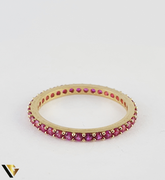 "Inel din aur 14k, 585 1.43 grame ""Eternity ring"" 2"