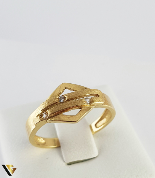 Inel din aur 18k, 750 2.40 grame 0