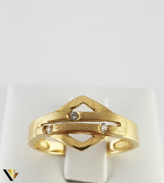 Inel din aur 18k, 750 2.40 grame 1