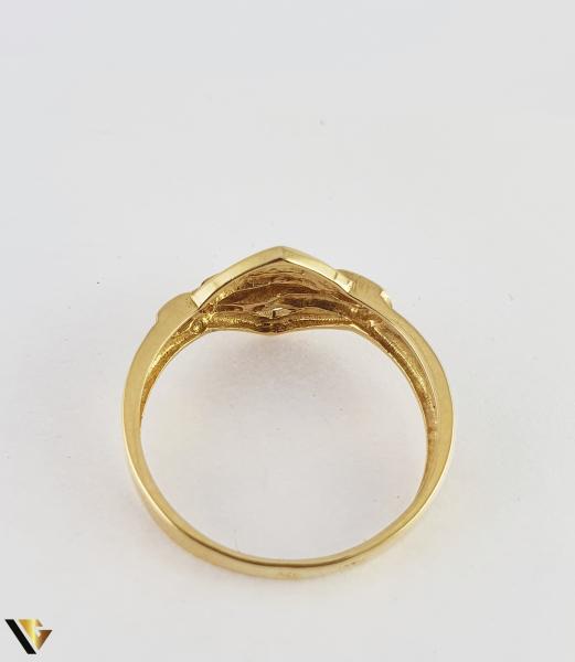 Inel din aur 18k, 750 2.40 grame 2