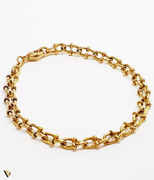 Bratara din aur 9k, 8.04 grame (BC M) 0