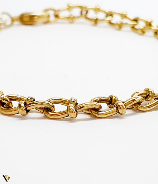 Bratara din aur 9k, 8.04 grame (BC M) 1