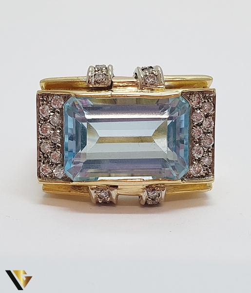 Inel Aur 18k, Diamante cca. 0.35 ct, 12.85 grame (IS) 2