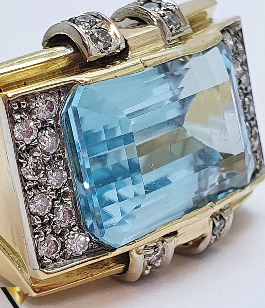Inel Aur 18k, Diamante cca. 0.35 ct, 12.85 grame (IS) 3