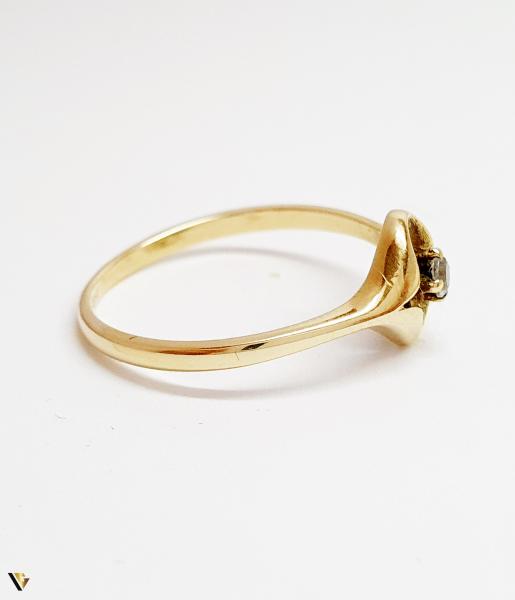 Inel din aur 14k, 1.8 grame (BC M) [2]