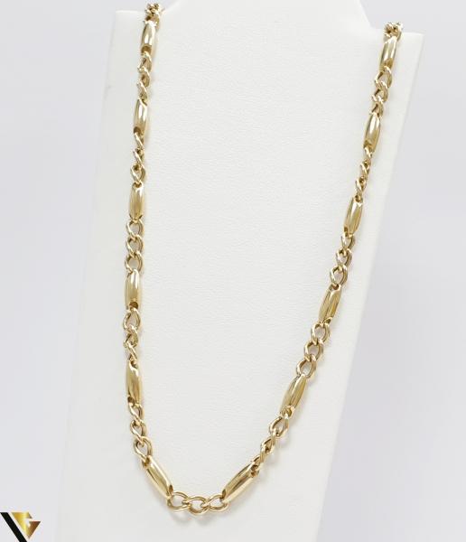 """Lant din aur 14k, 585 13.60 grame Lungime de 60 cm Latime de 4.5 mm Marcaj cu titlul """"585"""" Locatie HARLAU [0]"""
