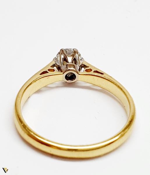 Inel Aur 18k, Diamant 0.31ct, 2.12 grame (BC M) 2
