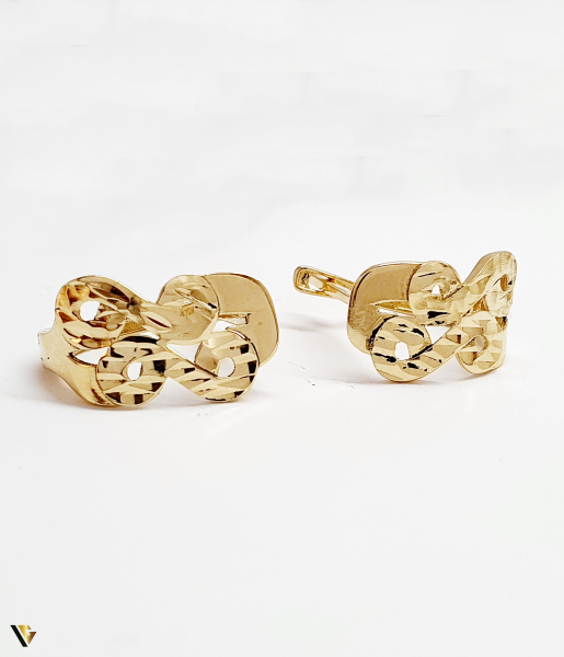 Cercei aur 14K , 2.42 grame (BC M) [0]