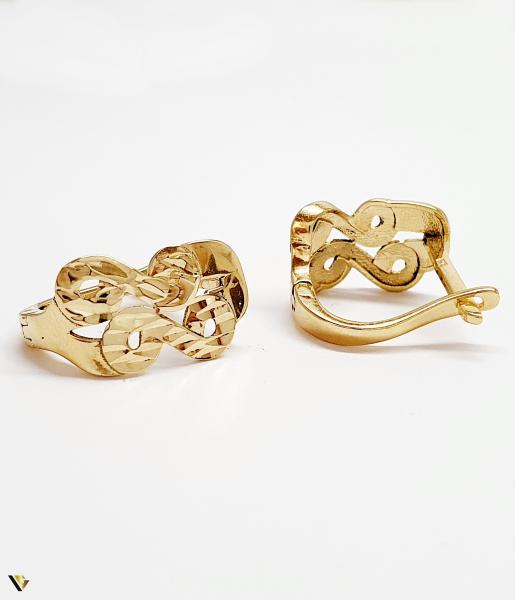 Cercei aur 14K , 2.42 grame (BC M) [1]