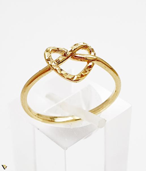 Inel din aur 14k, 1.60 grame (BC M) [0]