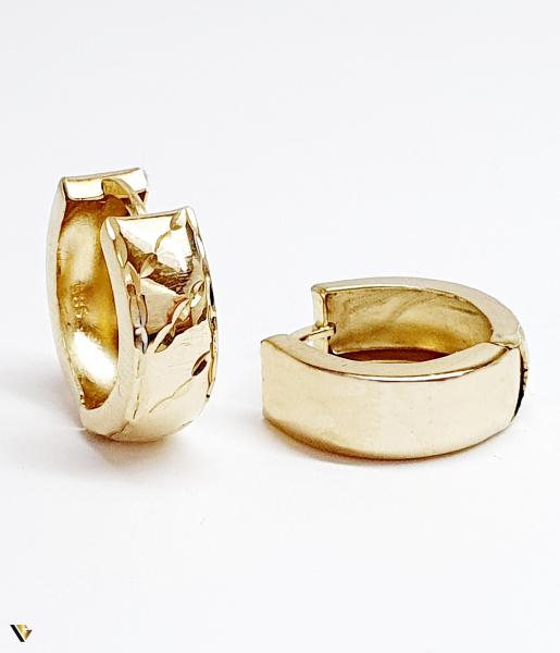 Cercei aur 14K , 3.25 grame (BC M) 0