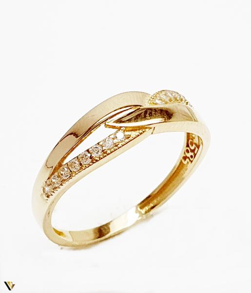 Inel din aur 14k, 1.99 grame (BC M) [0]