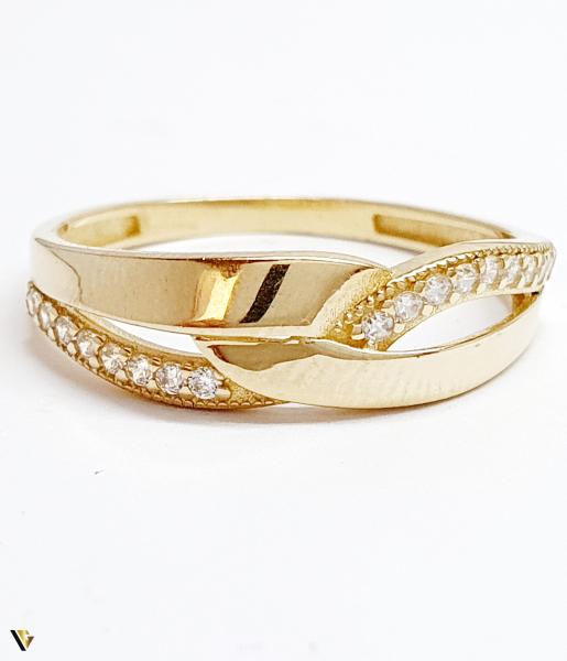 Inel din aur 14k, 1.99 grame (BC M) [1]
