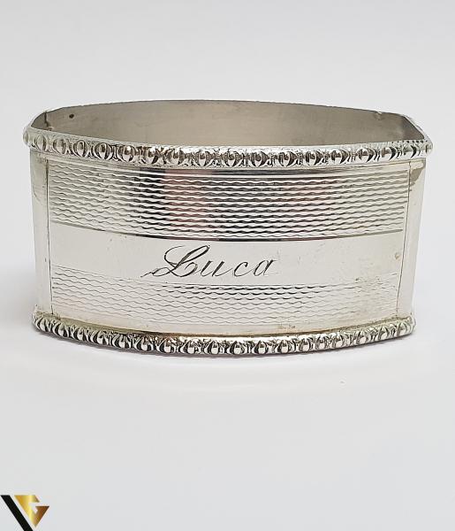 Inel pentru servetele, argint 800, 18.92 grame (IS) [0]