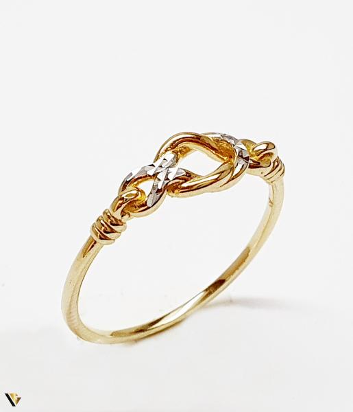 Inel din aur 14k, 1.52 grame (BC M) [0]
