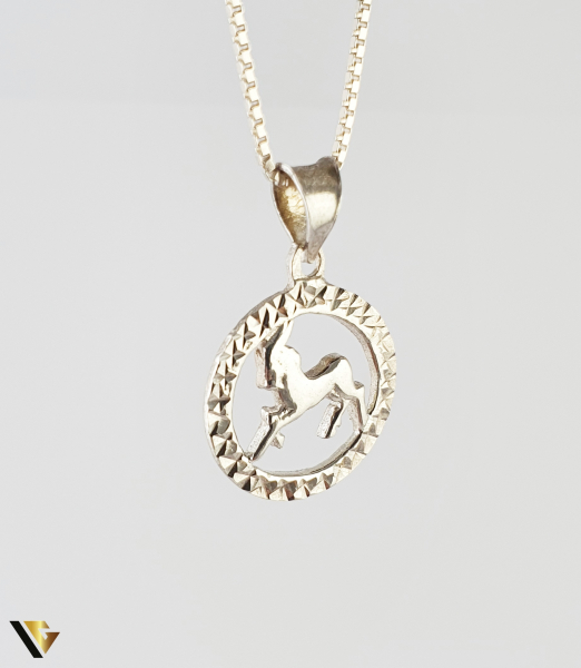 Pandantiv Argint 925, Capricorn, 1.76 grame (R) [0]