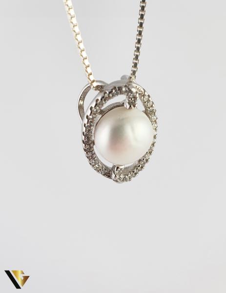 Pandantiv Argint 925, 2.58 grame (R) perla [0]