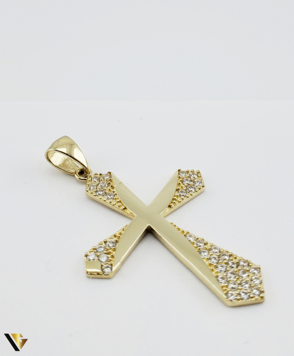 Pandantiv Aur 14K, 2.84 grame (R) cruce [1]