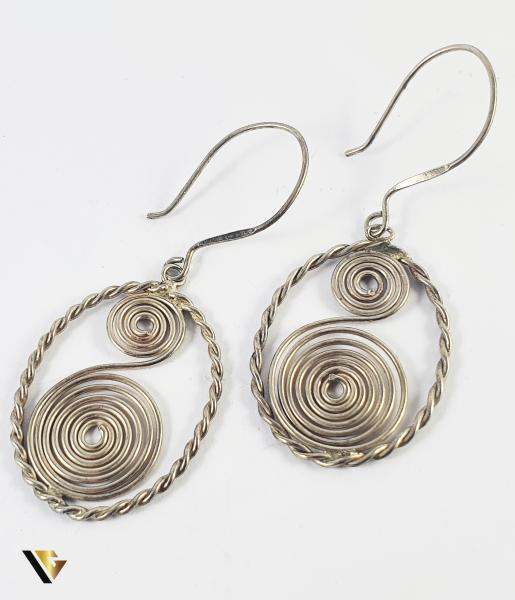 Cercei Argint 925, 7.70 grame (PD) 0