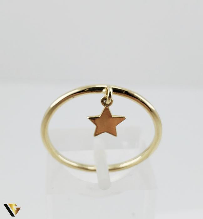Inel Aur 14k, 1.42 grame (R) stea [1]