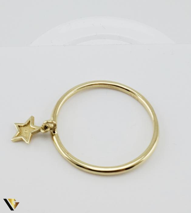 Inel Aur 14k, 1.42 grame (R) stea [3]