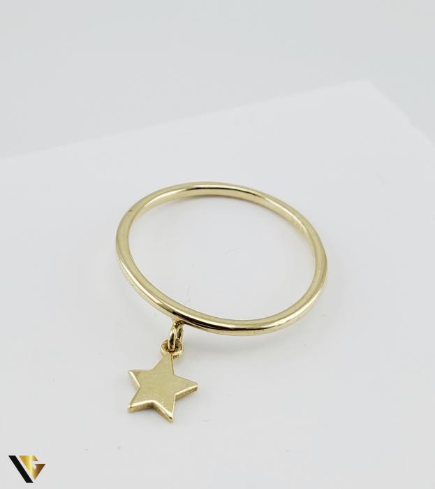 Inel Aur 14k, 1.42 grame (R) stea [4]