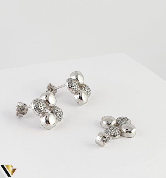 Set Argint Cercei si Pandantiv, 5.08 grame (R) [1]