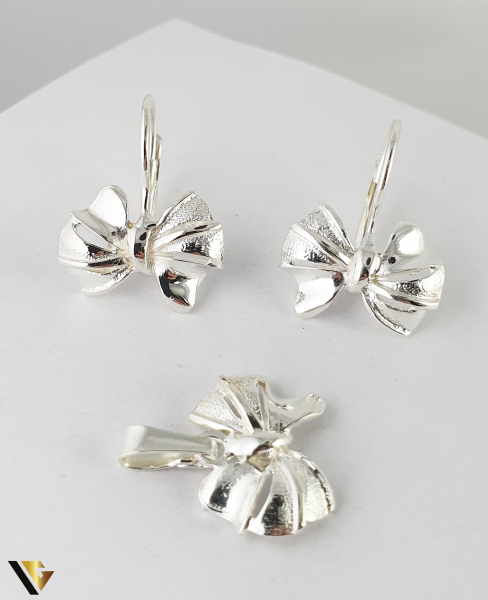 Set Argint Cercei si Pandantiv, 4.35 grame (R) [0]