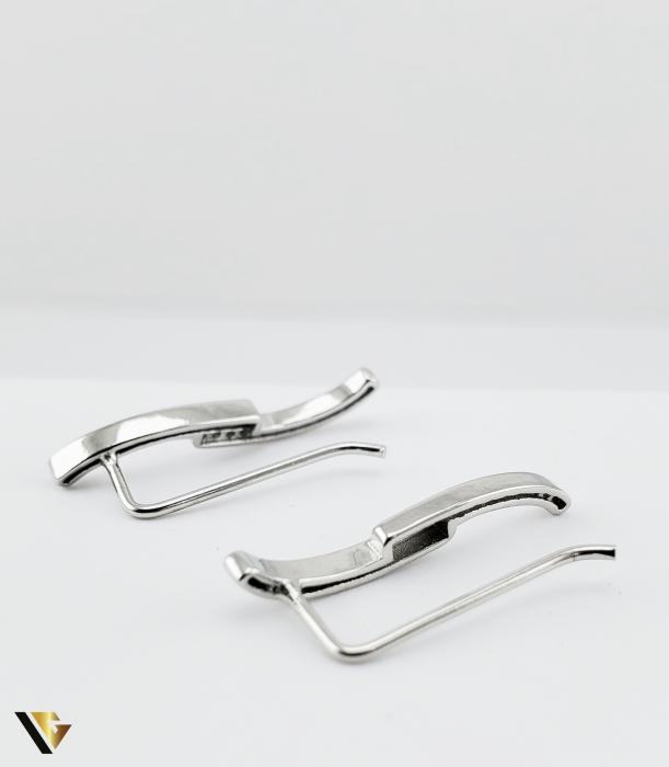 Cercei argint 925, 1.62 grame (R) alungit lobul urechii [1]