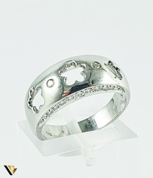 Inel Aur 14k, Diamante de cca 0.14 ct in total, 4.77 grame (P) 0